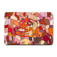 Abstract Abstraction Pattern Modern Small Doormat