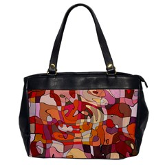 Abstract Abstraction Pattern Modern Office Handbags