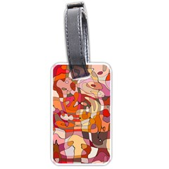 Abstract Abstraction Pattern Modern Luggage Tags (One Side)