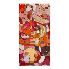 Abstract Abstraction Pattern Modern Shower Curtain 36  x 72  (Stall)