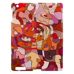 Abstract Abstraction Pattern Modern Apple iPad 3/4 Hardshell Case