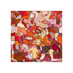 Abstract Abstraction Pattern Modern Acrylic Tangram Puzzle (4  x 4 )