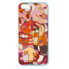 Abstract Abstraction Pattern Modern Apple Seamless iPhone 5 Case (Color)