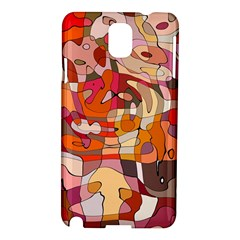 Abstract Abstraction Pattern Modern Samsung Galaxy Note 3 N9005 Hardshell Case