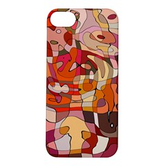 Abstract Abstraction Pattern Modern Apple iPhone 5S/ SE Hardshell Case