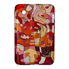 Abstract Abstraction Pattern Modern Samsung Galaxy Tab 2 (7 ) P3100 Hardshell Case