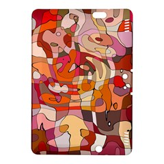 Abstract Abstraction Pattern Modern Kindle Fire HDX 8.9  Hardshell Case
