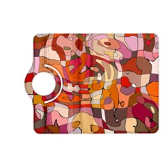 Abstract Abstraction Pattern Modern Kindle Fire HD (2013) Flip 360 Case