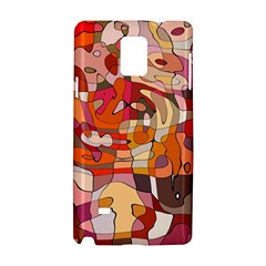 Abstract Abstraction Pattern Modern Samsung Galaxy Note 4 Hardshell Case