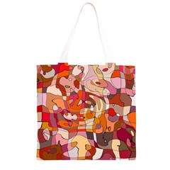 Abstract Abstraction Pattern Modern Grocery Light Tote Bag