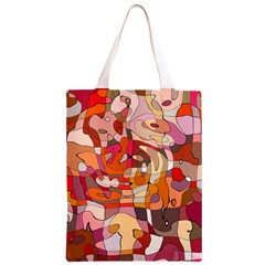 Abstract Abstraction Pattern Modern Classic Light Tote Bag
