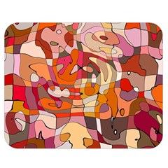 Abstract Abstraction Pattern Modern Double Sided Flano Blanket (Medium)