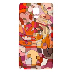 Abstract Abstraction Pattern Modern Galaxy Note 4 Back Case
