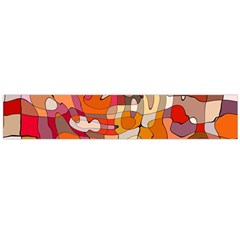 Abstract Abstraction Pattern Modern Flano Scarf (Large)