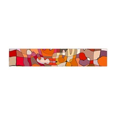 Abstract Abstraction Pattern Modern Flano Scarf (Mini)