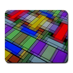 Abstract Background Pattern Large Mousepads