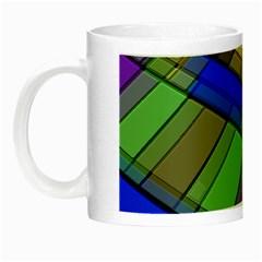 Abstract Background Pattern Night Luminous Mugs