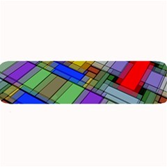 Abstract Background Pattern Large Bar Mats