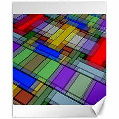 Abstract Background Pattern Canvas 11  x 14