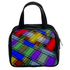 Abstract Background Pattern Classic Handbags (2 Sides)