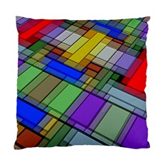 Abstract Background Pattern Standard Cushion Case (Two Sides)