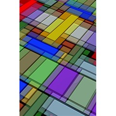 Abstract Background Pattern 5.5  x 8.5  Notebooks