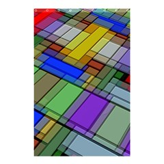 Abstract Background Pattern Shower Curtain 48  x 72  (Small)