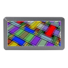 Abstract Background Pattern Memory Card Reader (Mini)