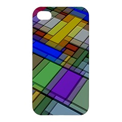 Abstract Background Pattern Apple iPhone 4/4S Premium Hardshell Case
