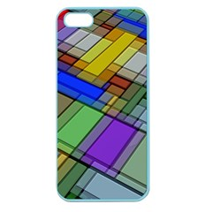 Abstract Background Pattern Apple Seamless iPhone 5 Case (Color)