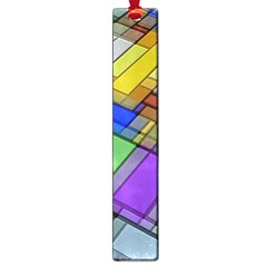 Abstract Background Pattern Large Book Marks