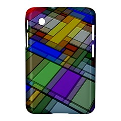 Abstract Background Pattern Samsung Galaxy Tab 2 (7 ) P3100 Hardshell Case