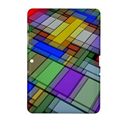 Abstract Background Pattern Samsung Galaxy Tab 2 (10.1 ) P5100 Hardshell Case