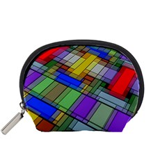 Abstract Background Pattern Accessory Pouches (Small)