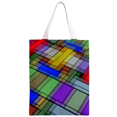 Abstract Background Pattern Classic Light Tote Bag