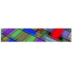 Abstract Background Pattern Flano Scarf (Large)