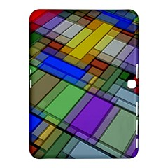 Abstract Background Pattern Samsung Galaxy Tab 4 (10.1 ) Hardshell Case