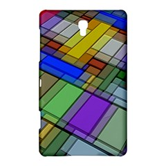 Abstract Background Pattern Samsung Galaxy Tab S (8.4 ) Hardshell Case