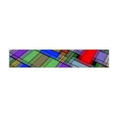Abstract Background Pattern Flano Scarf (Mini)