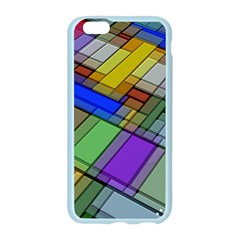 Abstract Background Pattern Apple Seamless iPhone 6/6S Case (Color)
