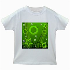 Art About Ball Abstract Colorful Kids White T-Shirts