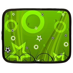 Art About Ball Abstract Colorful Netbook Case (Large)