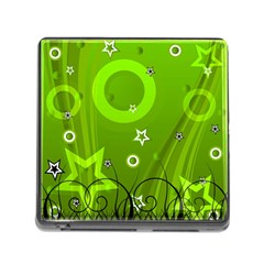 Art About Ball Abstract Colorful Memory Card Reader (Square)