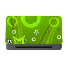 Art About Ball Abstract Colorful Memory Card Reader with CF