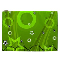 Art About Ball Abstract Colorful Cosmetic Bag (XXL)