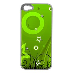 Art About Ball Abstract Colorful Apple iPhone 5 Case (Silver)
