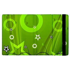 Art About Ball Abstract Colorful Apple iPad 2 Flip Case