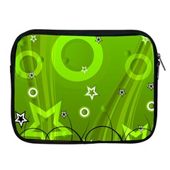 Art About Ball Abstract Colorful Apple iPad 2/3/4 Zipper Cases