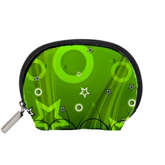 Art About Ball Abstract Colorful Accessory Pouches (Small)