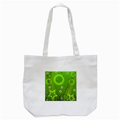 Art About Ball Abstract Colorful Tote Bag (White)